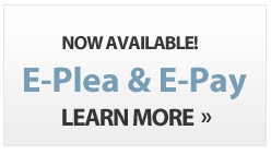 E-Pay & E-Plea Now Available